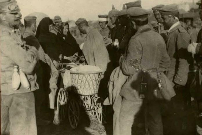 Військові та місцеві, Сокаль, 1914-1918 рр.