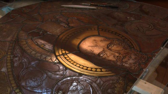 У Львові відреставрують вітраж із Вірменського собору