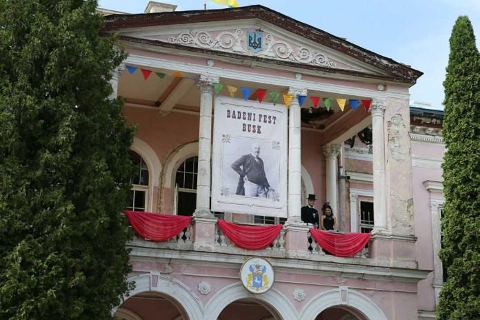 «Бадені Fest» в Буську. Світлив Євген Кравс