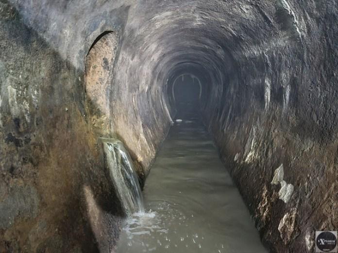 І нарешті ми попали у великий тунель!