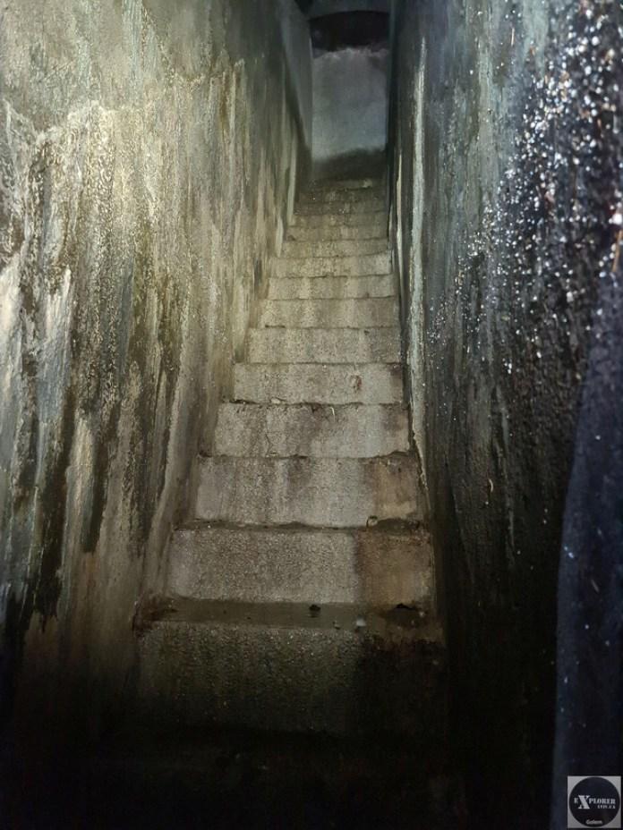 Сходи нагору на вулицю Мечникова