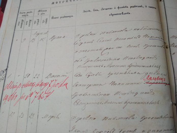Документи Держархіву Рівненської області