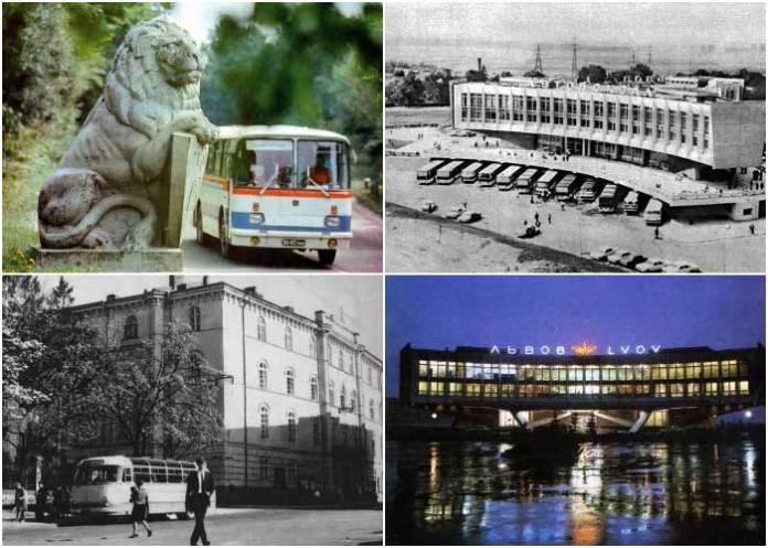 Із історії автобусних перевезень у Львові. Частина третя