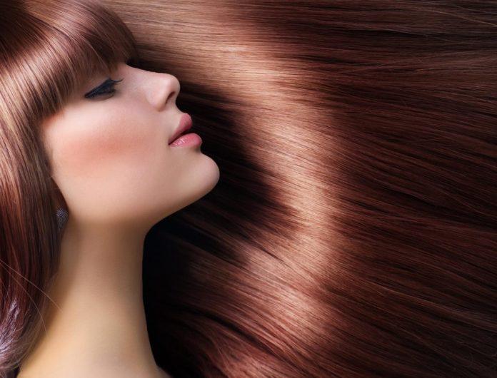 Розкішне волосся після кавової гущі