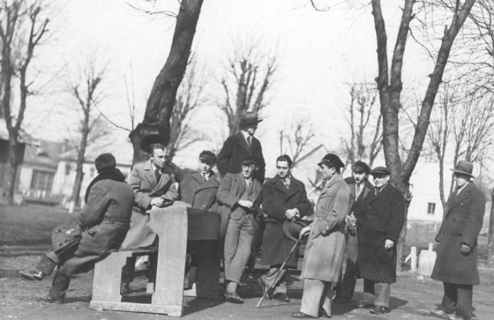 Маніфестація студентів Львівського університету, 1933 р.