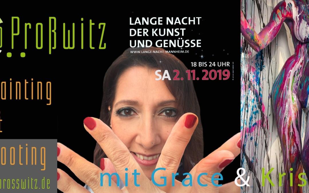 Lange Nacht der Kunst und Genüsse am 2.11.19