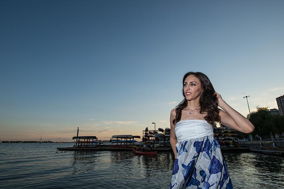 Maryam at Sunset