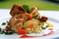 rolled-chicken-with-vegetable