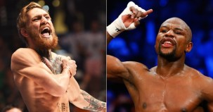Image result for Mayweather returns to face McGregor in August