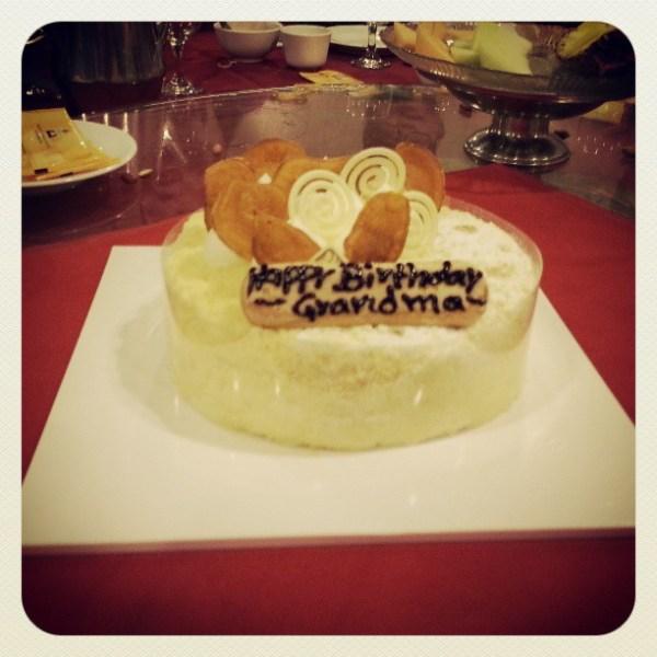 Thus cake.
