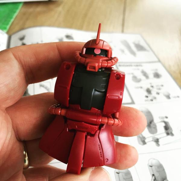 HG Char's Zaku II Origin Version