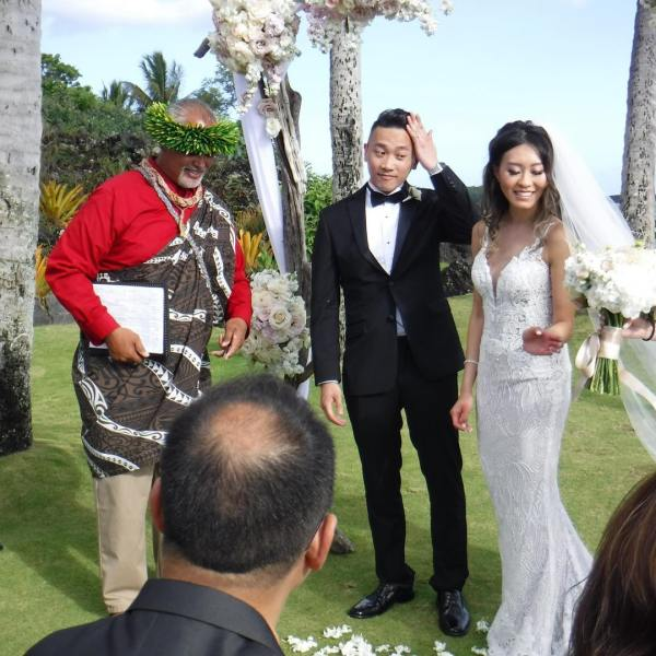 It's a great wedding ?