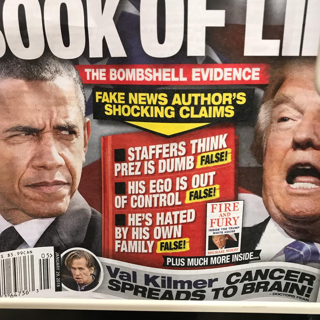Uh huh. What a stable tabloid.