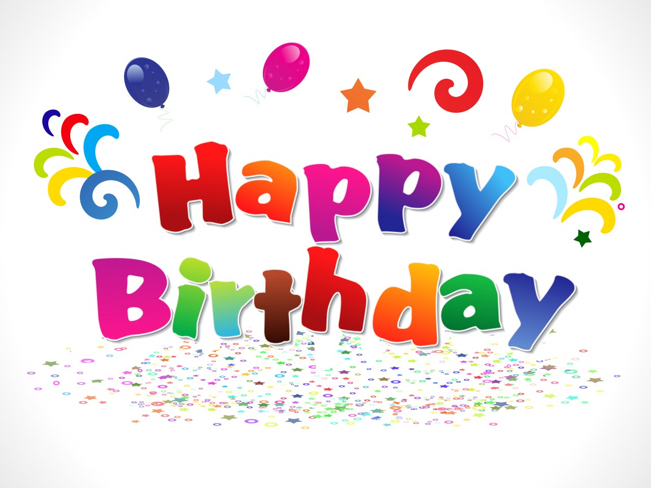 Abstract Happy Birthday Backgrounds Elsoar