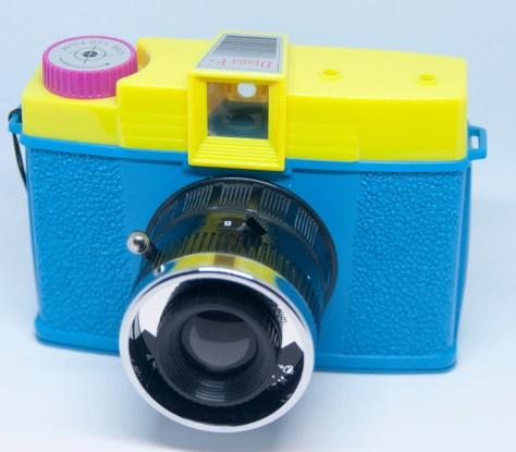Diana F+ front angle view