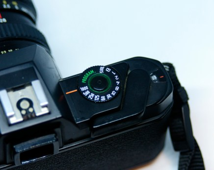 Pentax P30 winder and counter
