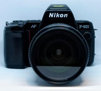 Nikon F-801 front