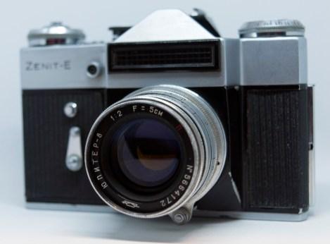 Zenit E with Jupiter 8 lens