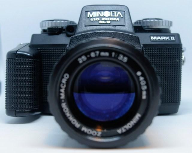 Minolta 110 front view