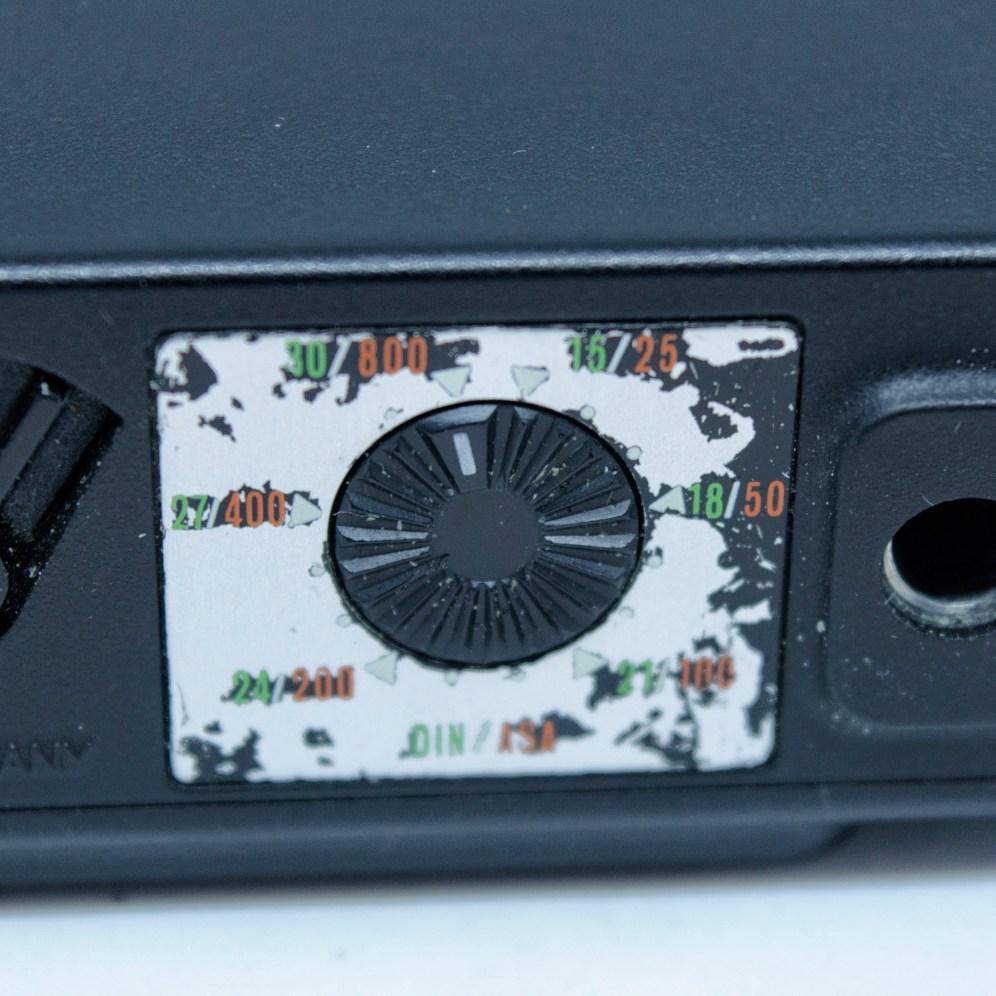 Minox 35 GT film speed selector