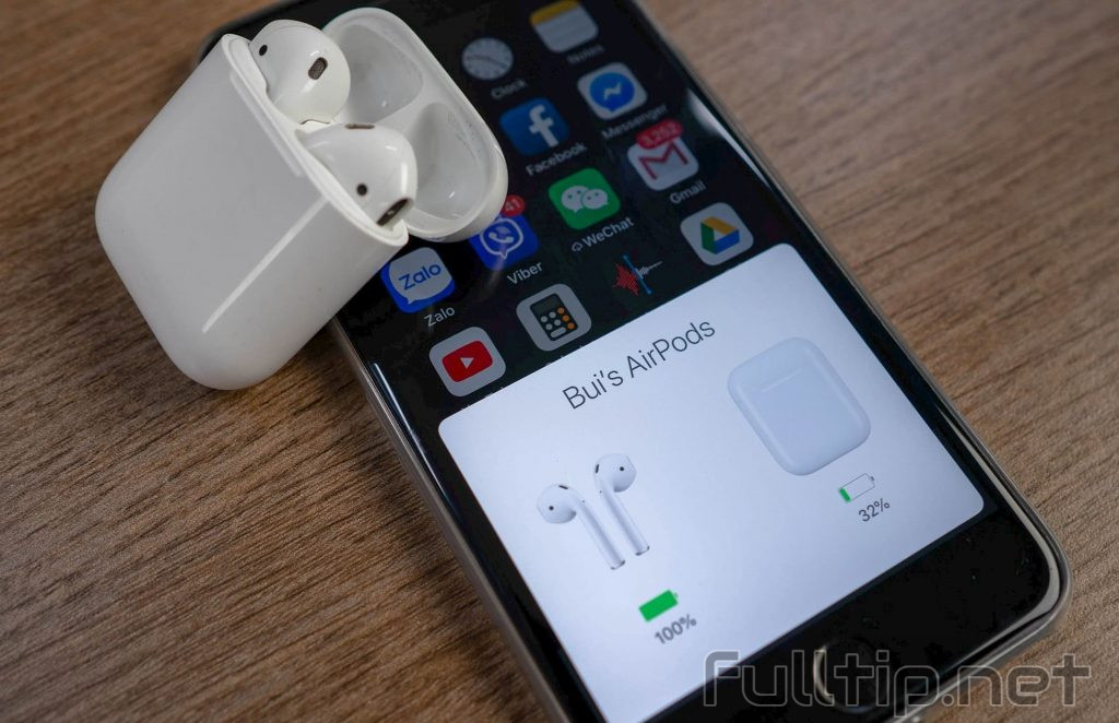 hard reset the Apple AirPods