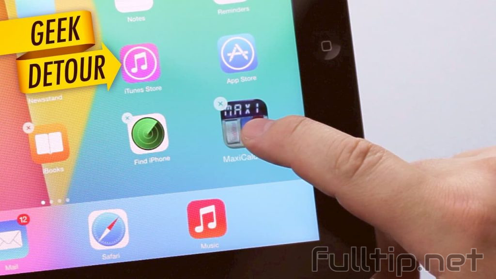 remove tweak like the application on iPhone