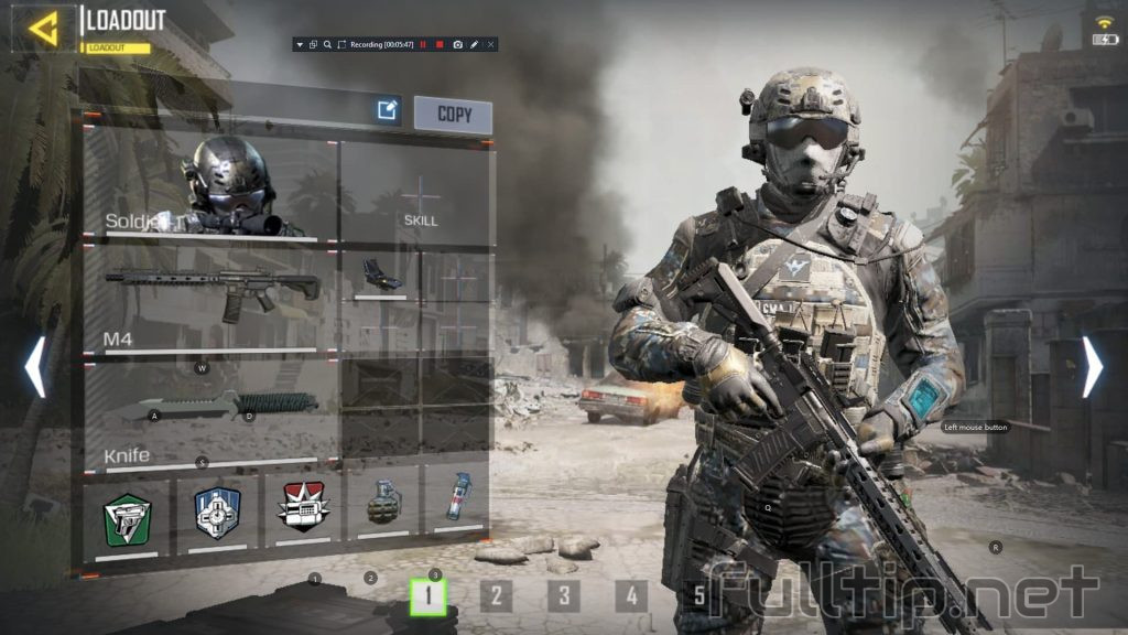 Call of Duty Mobile configuration