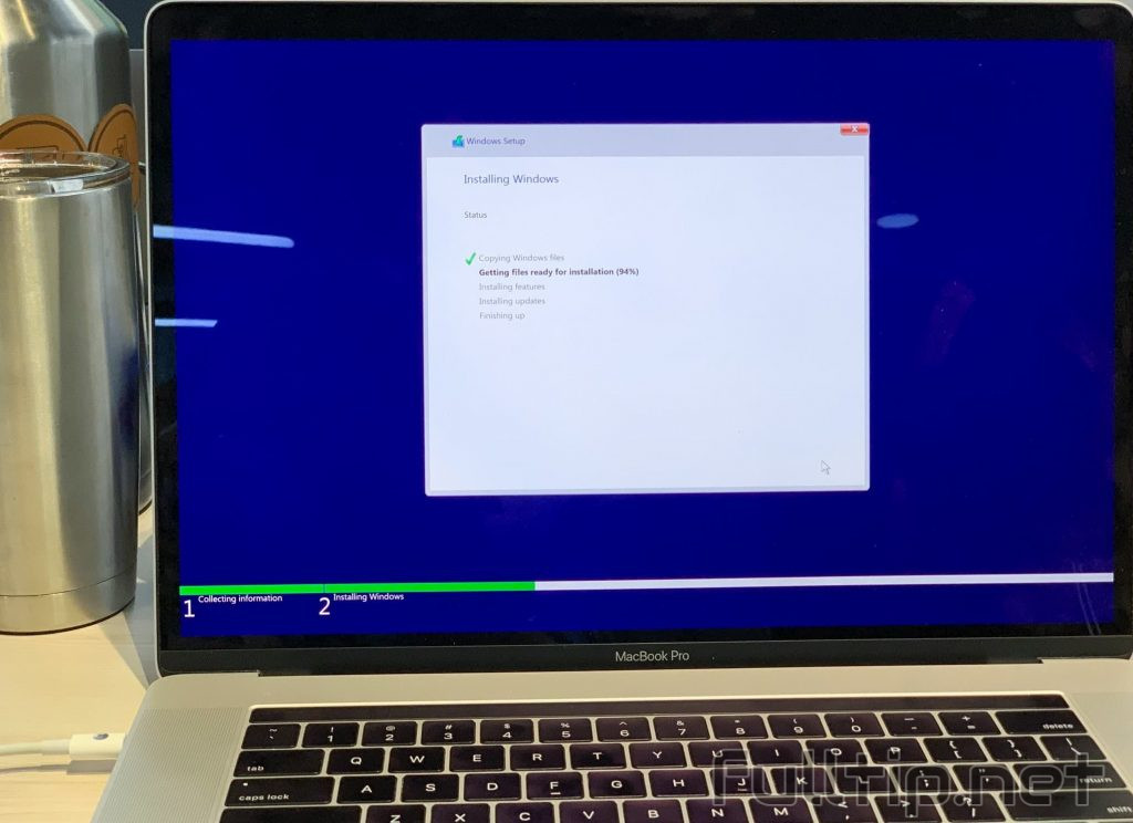 Experience Windows 10 May 2019 on the Macbook