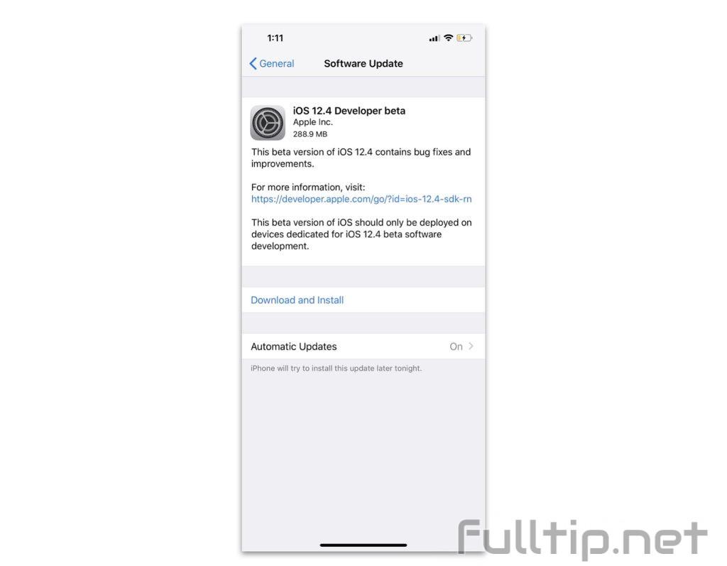 iOS 12.4 Developer Beta supports Apple Card