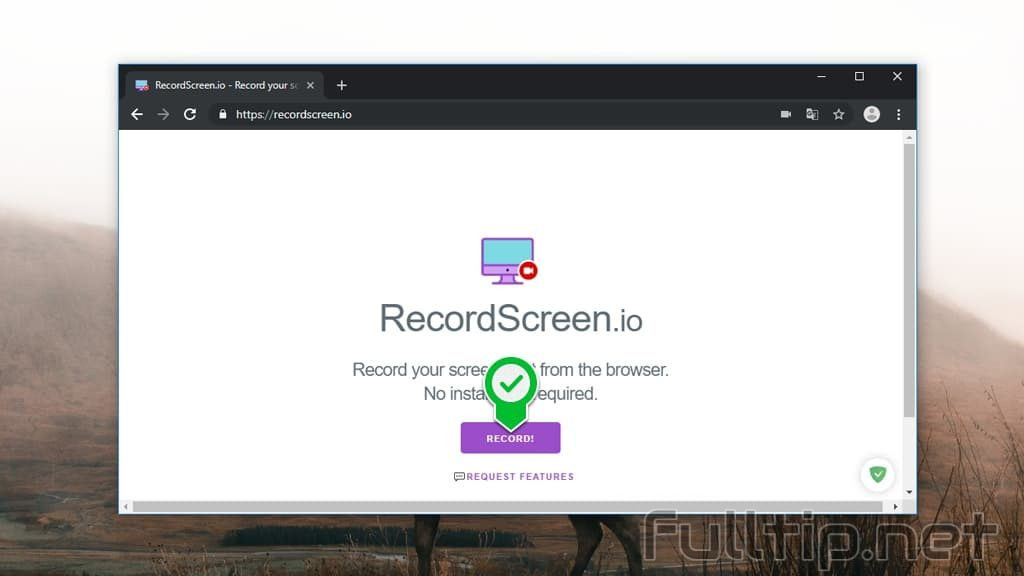 Free tool for video recording