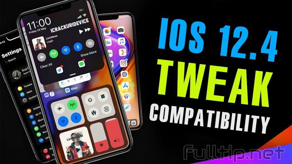 tweak jailbreak iOS 12.4