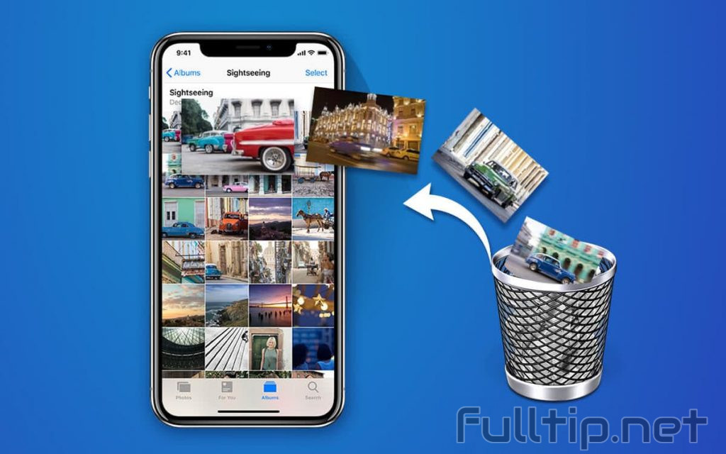 restore deleted data on iPhone