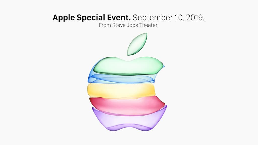 The launch event of the new generation of iPhone