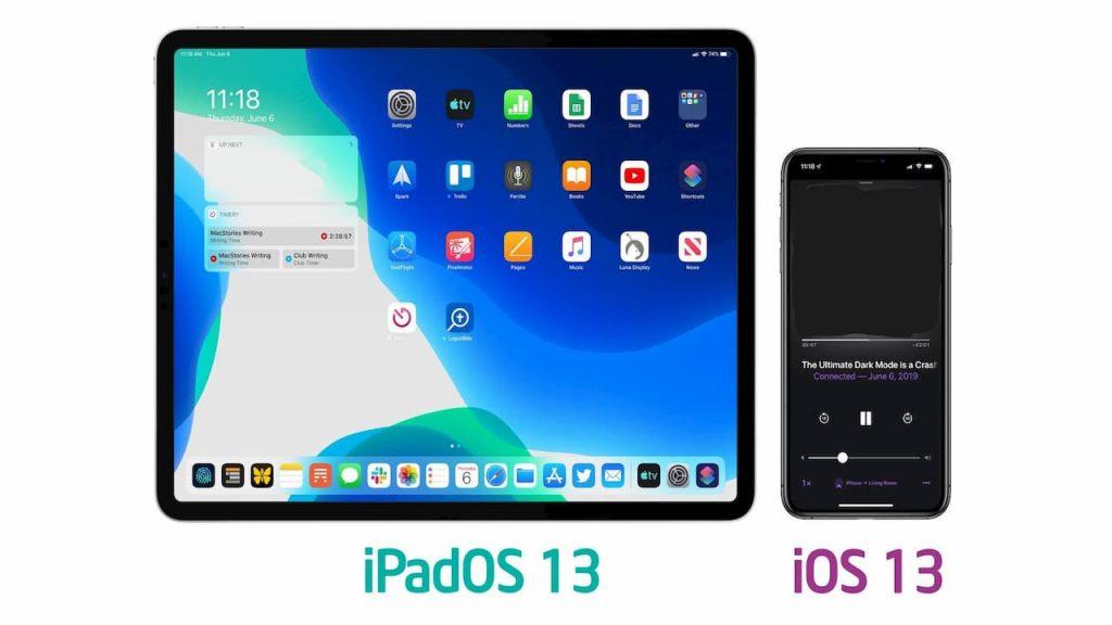 upgrading iOS 13 update