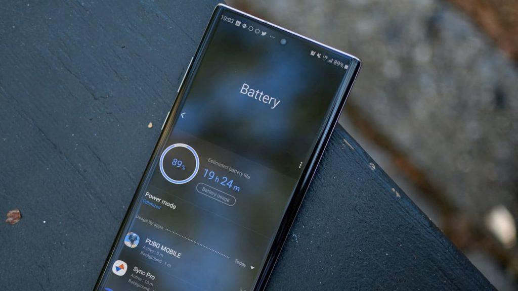 Extend Samsung Galaxy Note 10 battery life