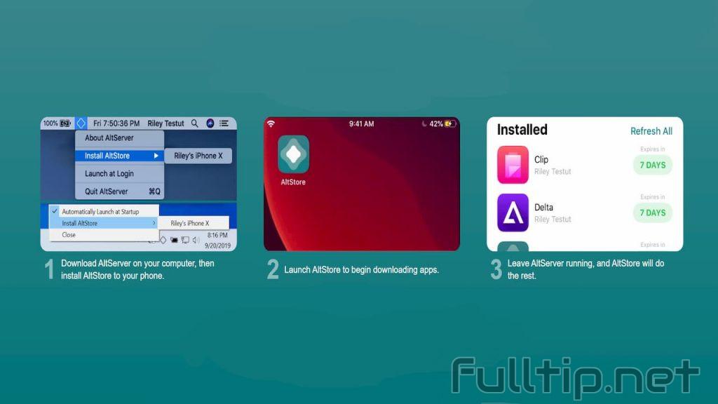 sideload app on Windows