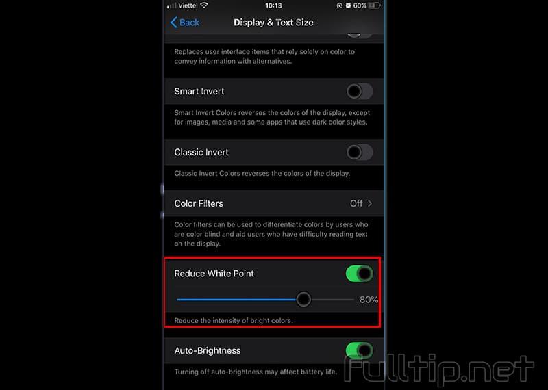 adjust screen brightness darker than iOS limit3