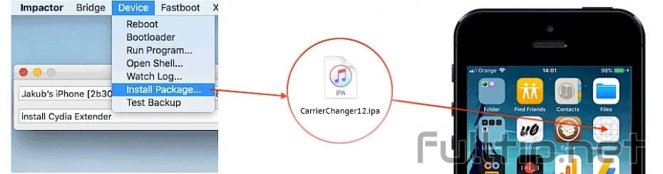 Rename carrier on iOS3