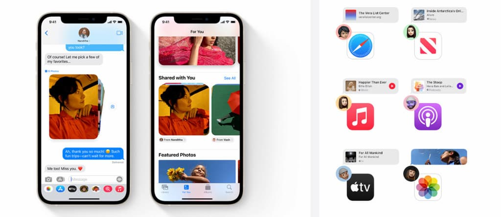 The most prominent new changes and features on iOS 15 3