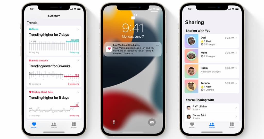 The most prominent new changes and features on iOS 15 10