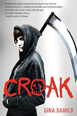 Book cover from Croak (Croak #1) by Gina Damico