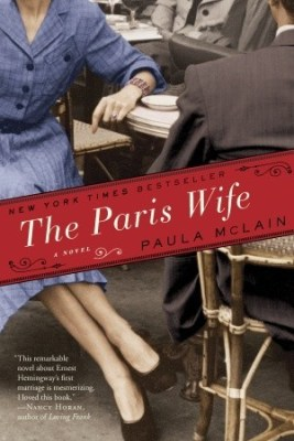 The Paris Wife by Paula McLain, a historical fiction novel about Ernst Hemmingway's first wife and the couple's time in Paris. Click through for full review. Via Diamonds in the Library.
