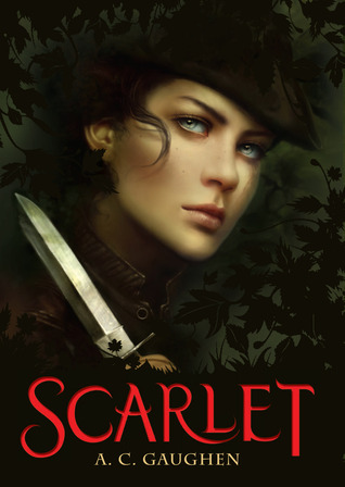 Book cover for Scarlet by A.C. Gaughen