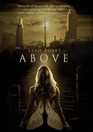 Book cover for Above by Leah Bobet