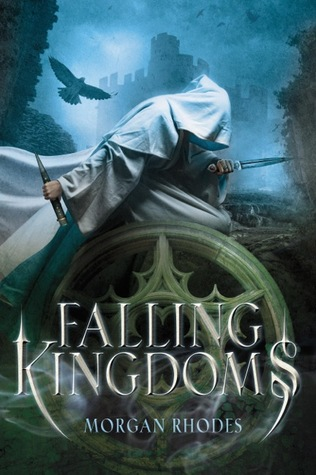 Book cover for Falling Kingdoms by Morgan Rhodes