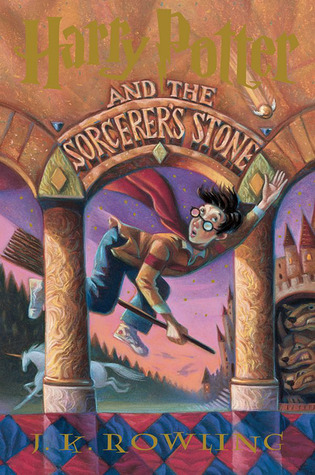 Harry Potter and the Sorcerer's Stone American cover