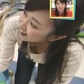 徳重杏奈アナ[メ~テレ]のレーズン乳首がモロ見え!胸チラ放送事故w