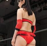 プロレスデビューした元日テレ女子アナ脊山麻理子(36)のハミケツがエロ過ぎw