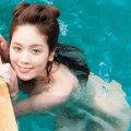 筧美和子がここまで脱いでたw全裸で水泳&小尻丸見えおっぱい透けに「乳輪デカっ!」