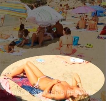 『世界さまぁ〜リゾート』でモザイク忘れwトップレス美女が映ってしまう放送事故w